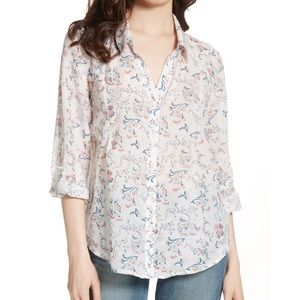 Joie | 'Katrine' floral button-down blouse XS